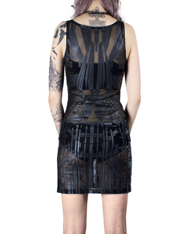 ARCHIMEDES MESH DRESS