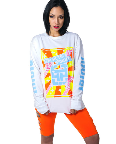 ATOMIC L/S GALACTIC POWER by Cyberdog - Rave clothing, festival fashion & clubwear.