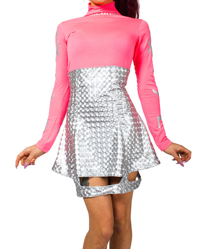 AUDACY SKIRT by Cyberdog - Rave clothing, festival fashion & clubwear.