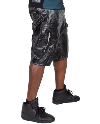 BALLOONEY SHORTS (CARBON) by Cyberdog - Rave clothing, festival fashion & clubwear.