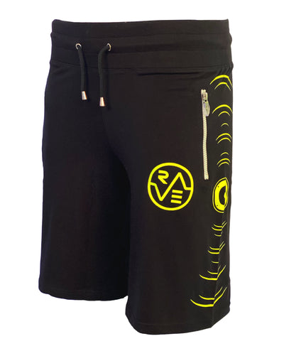 SMILEY BOOM BASKETBALL SHORTS by Cyberdog - Rave clothing, festival fashion & clubwear.