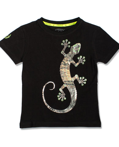 KIDS BOYS S/S MECH LIZZARD