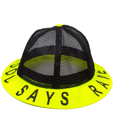 BUCKET HAT CD SAYS RAVE