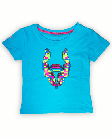 KIDS GIRLS S/S BUILDER LOGO