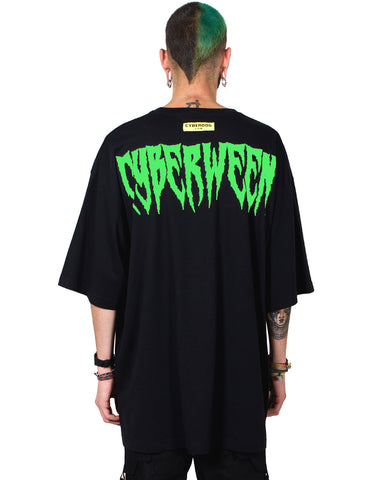 OVERSIZE S/S BURN THE WITCH