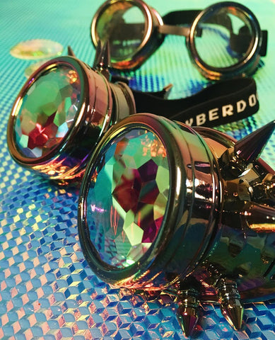 CB DUO SPIKEY GOGGLE COLOUR LENS