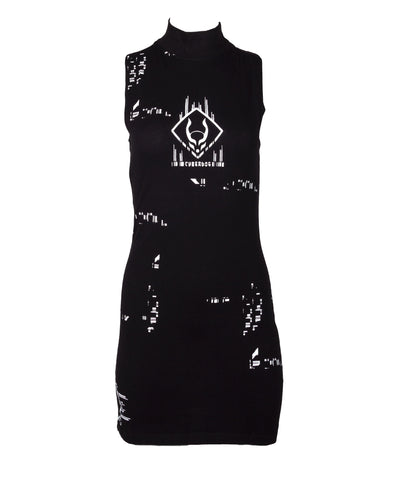 CODE RIB DRESS by Cyberdog - Rave clothing, festival fashion & clubwear.