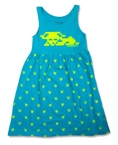 KIDS CYBERSTAR DRESS POLKA DOGS