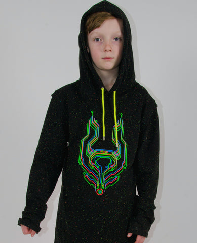 KIDS HOODY SPECLE TALK TO THE DOG