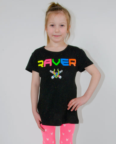 KIDS T DRESS SPECLE RAVER LOGO