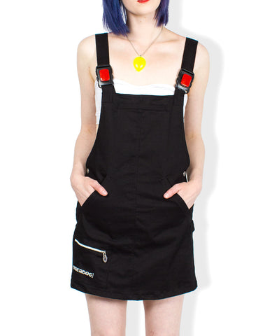 APOLLO DUNGAREE DRESS