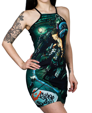 DYSTOPIAN TANK DRESS