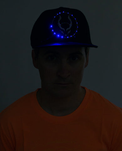 FLASHING LOGO CAP