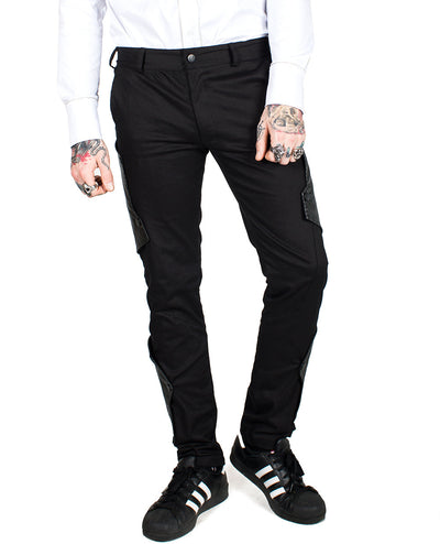 FRAGMENTS SUIT TROUSERS by Cyberdog - Rave clothing, festival fashion & clubwear.