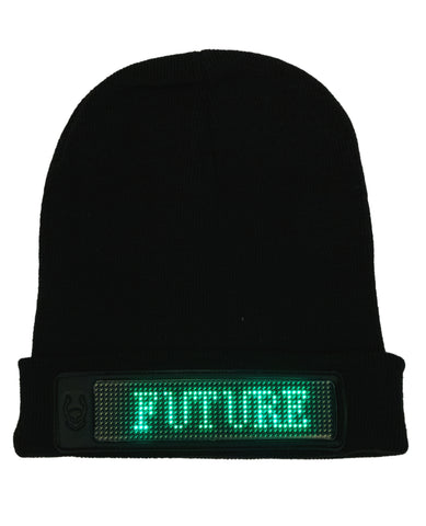 LIGHT FUTURE FOLDED BEANIE