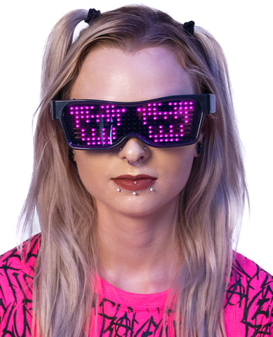 FUTURE RAVE GLASSES