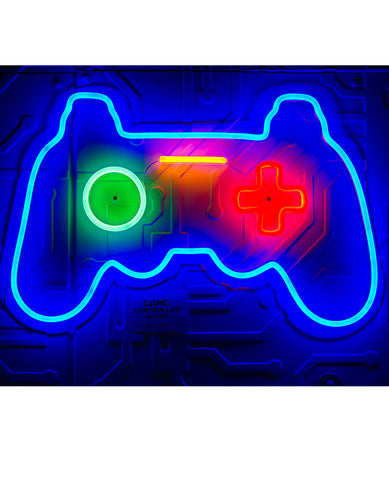 GAME CONTROLLER NEON LIGHT