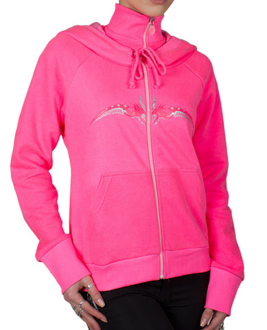GIRLS SPACE ZIP HOODIE