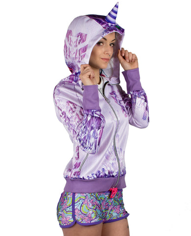 GIRLS UNICORN HOODY