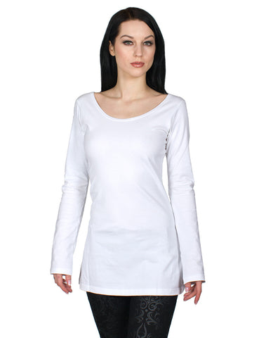 GIRLS MECH WING L/S TOP