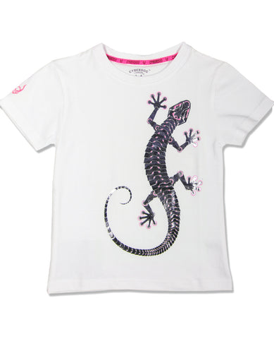 KIDS GIRLS S/S MECH LIZZARD
