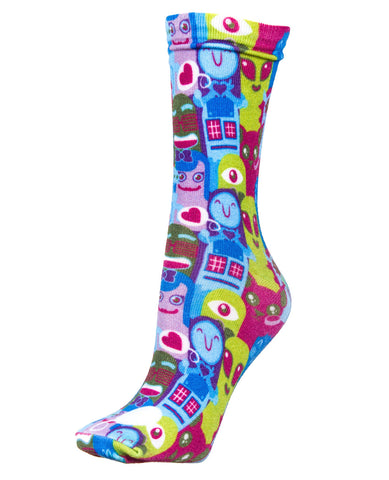 GIRLS CHARACTERS SOCKS SHORT