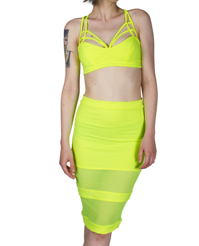 GLIMMER SKIRT by Cyberdog - Rave clothing, festival fashion & clubwear.