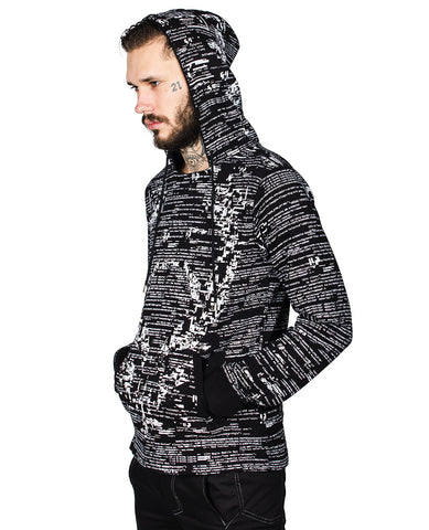 MENS FUTURE HOODY GLITCH