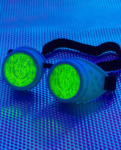 CB DUO GLOW IN THE DARK GOGGLE