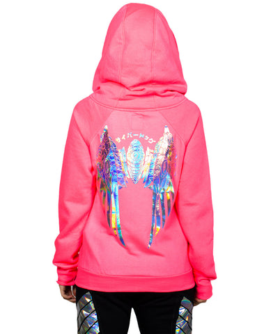 GIRLS SPACE ZIP HOODY GUARDIAN ANGEL