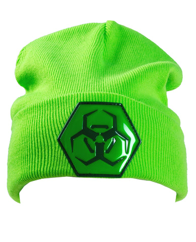 HEX HAZARD FOLDED BEANIE