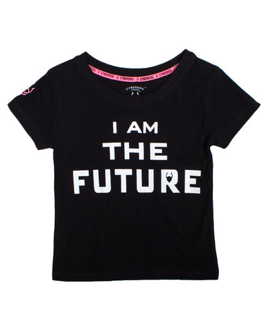 KIDS GIRL S/S I AM THE FUTURE