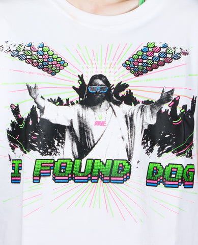 I FOUND DOG EASY CROP TEE