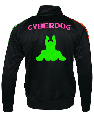 CYBERLAB KAPPA X CD MENS CLASSIC TRACK JACKET by Cyberdog - Rave clothing, festival fashion & clubwear.