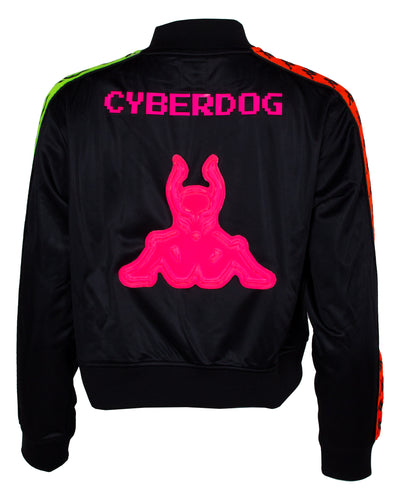 CYBERLAB KAPPA X CD WOMENS CLASSIC TRACK JACKET by Cyberdog - Rave clothing, festival fashion & clubwear.