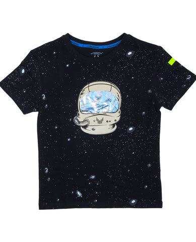 BOYS S/S SPACE HELMET