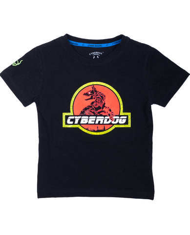 KIDS BOY S/S JURASSIC DOG
