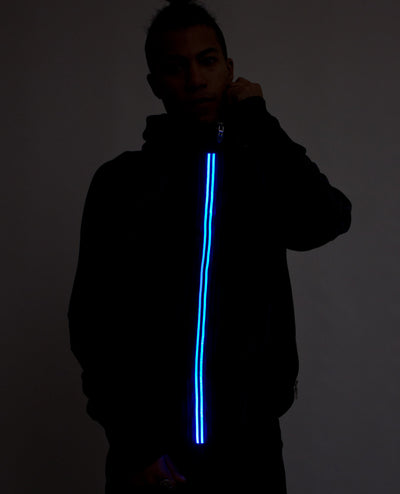LED ZIPPER by Cyberdog - Rave clothing, festival fashion & clubwear.
