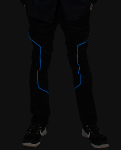 LIGHT UP TROUSERS by Cyberdog - Rave clothing, festival fashion & clubwear.