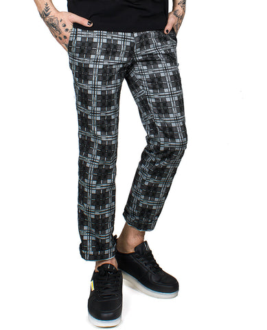 MENS CLASSIC CROP TROUSERS