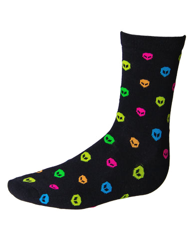 MENS POLKA ALIEN SOCKS