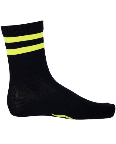 MENS STRIPES LOGO SOCKS