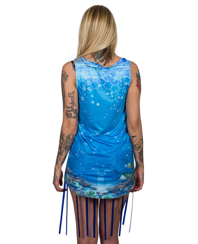 LOOSE FIT VEST MERMAID