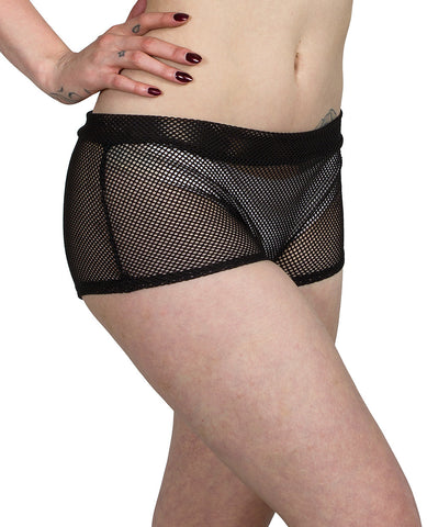 ROCKER MESH HOTPANTS