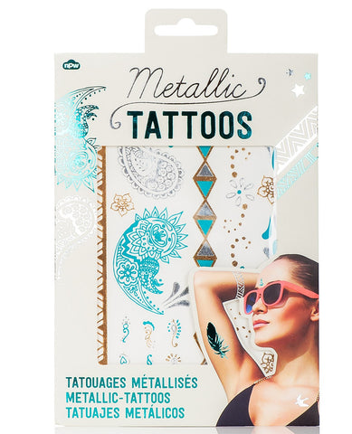 METALLIC JEWELLERY TATTOOS
