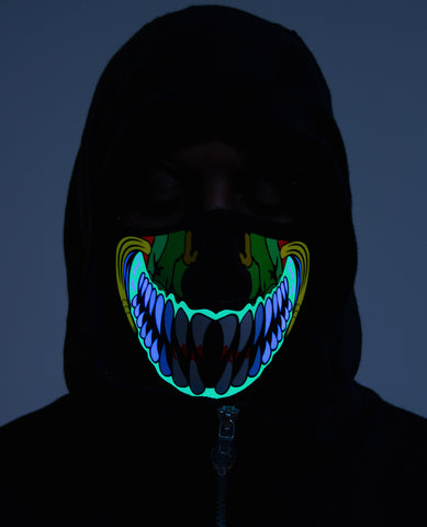MONSTER TOOTH LIGHT UP MASK