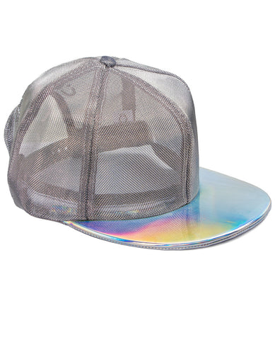 METALLIC MESH TRACKER CAP