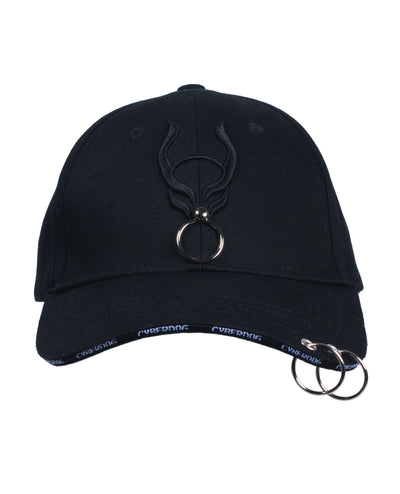 CYBERDOG PIERCED CAP by Cyberdog - Rave clothing, festival fashion & clubwear.