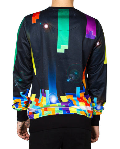 MENS DIGITAL PIXEL LOGO SWEAT