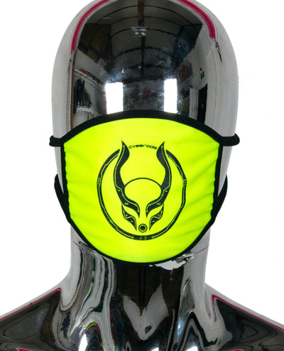 PRINTED MASK CIRC by Cyberdog - Rave clothing, festival fashion & clubwear.